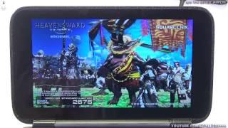 GPD Win - обзоры и тесты, ч.08: тест GPD Win в Final Fantasy XIV - официальный бенчмарк