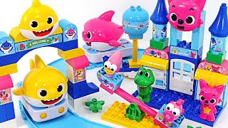 Baby Shark and Pinkfong! Let's go to the Pinkfong Amusement park! | PinkyPopTOY