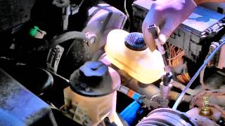 Master Cylinder Replacement - Bench Bleeding