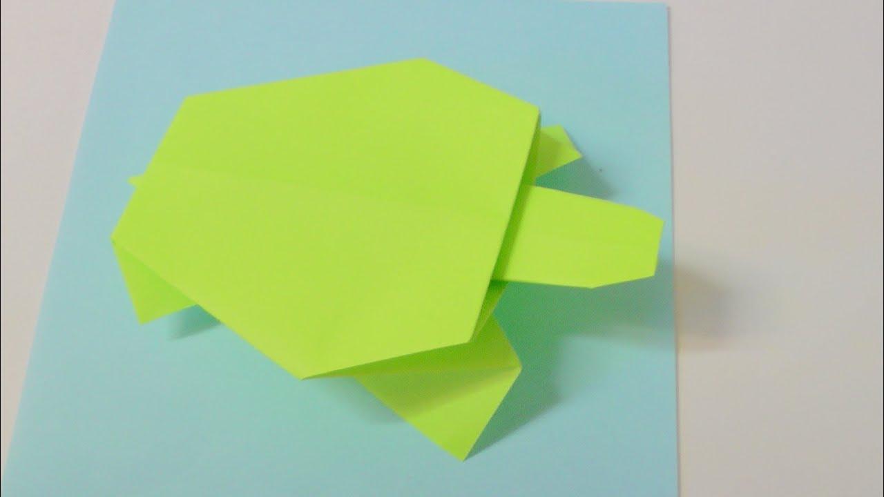 origami schildkr te youtube. Black Bedroom Furniture Sets. Home Design Ideas