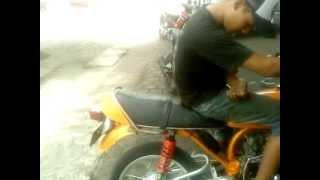 Repeat youtube video KNALPOT Rx King 3v3 leher cacing by DoT Racing Semarang
