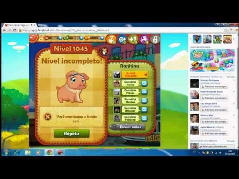 Como ganhar feijões ilimitado - Farm Heroes Saga