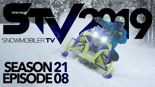 Snowmobiler TV - 2019 Episode 8 (Turbo Install )