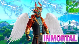 BUG TO BE IMMORTAL en GAME PATIO MODE - Fortnite Saison 8