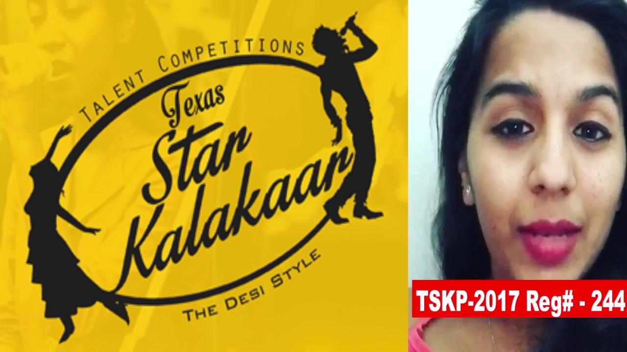 Reg# TSK2017P244- Texas Star Kalakaar 2017