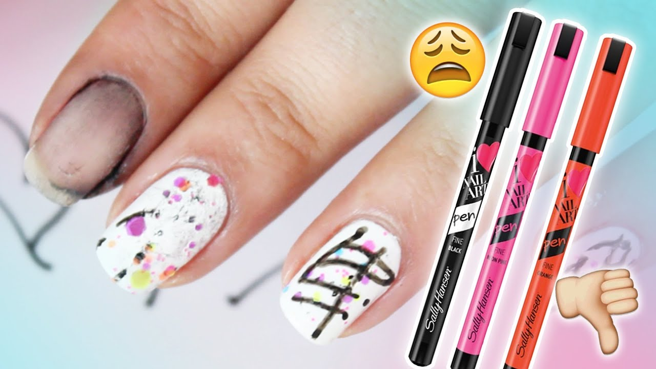 WORST NAIL ART PEN?! - YouTube