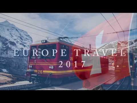 [HD] Europe Travel Video   Switzerland & Germany 2017     Sam gor Travel   