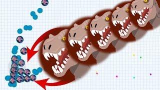 Agar.io Solo Best Troll Split Agario Mobile Best Moments!