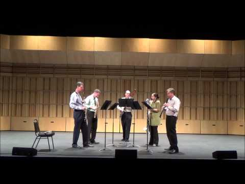 ASU Woodwind Faculty performing Browning by William Byrd, arr. by Raff Hekkema