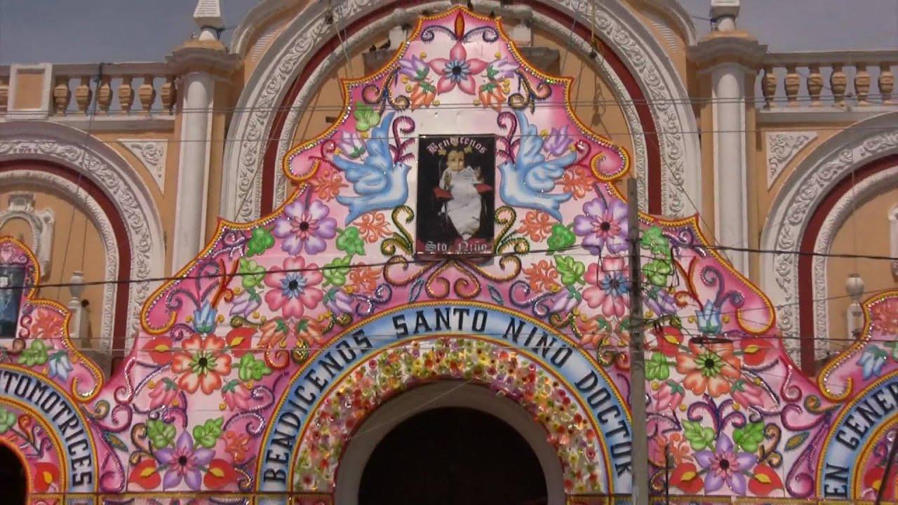 Templo de San Francisco, sede del Santo Niño de Tepeaca