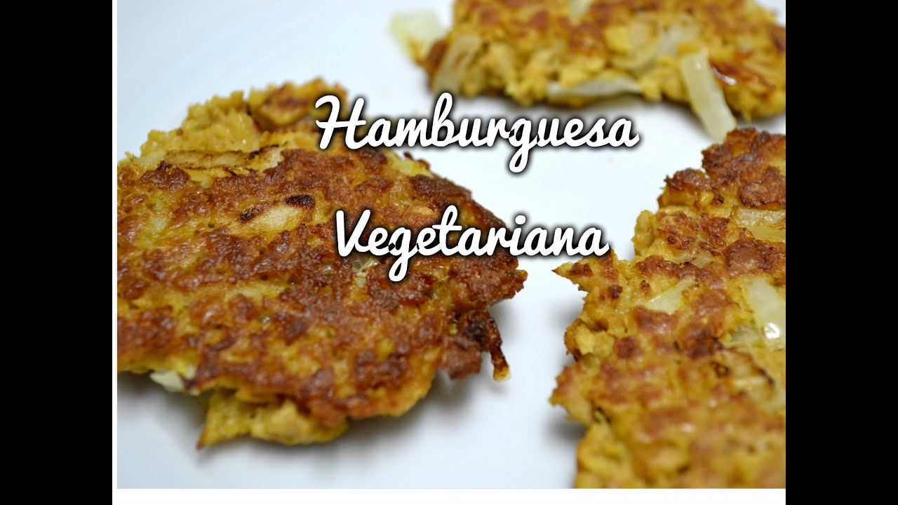 Hamburguesa Soja Texturizada Vegetariano Recetas