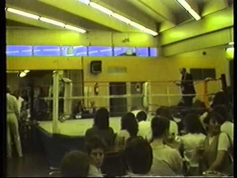 Runcorn boys club boxing show 1980s