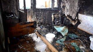 В Барановичах на пожаре в квартире погиб пенсионер