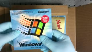 Unboxing windows 98se
