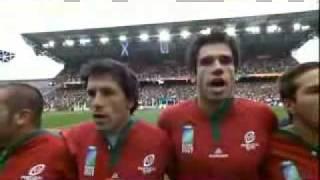 Rwc 2007 Hino de Portugal - Os Lobos Rugby