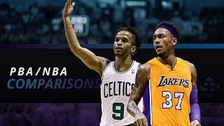 3 PBA Stars at ang kanilang mga NBA Comparisons
