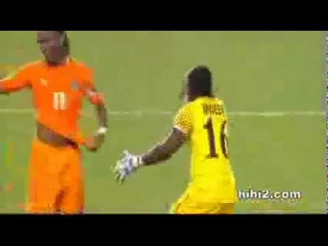 Final CAN 2012  ZAMBIE Vs COTE D'IVOIRE - Penalty Rat de Drogba