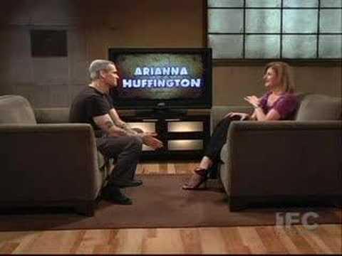 Henry Rollins Interviews Arianna Huffington Part 2 (IFC)