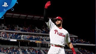 MLB The Show 19 – Bryce Harper Phillies Team Announcement Trailer | PS4