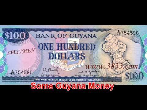 LEARN AND SEE GUYANA MONEY.