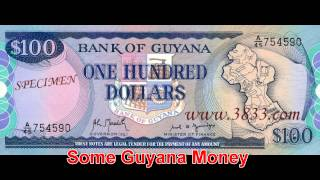LEARN AND SEE GUYANA MONEY.