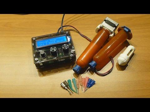 DM dispenser, for solder pastes and adhesives