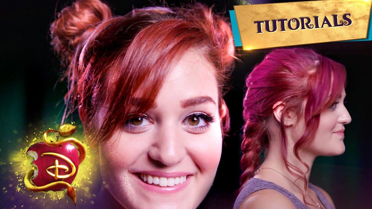 Mal, Evie, and Dizzy Halloween Hair Tutorials 👱♀️ | Beauty DIY | Compilation | Descendants