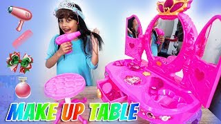 Mainan anak FROZEN MAKEUP TABLE || Mainan meja rias untuk anak