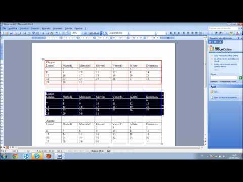 Modello Calendario Word.Come Creare Un Calendario Con Word Very Tech