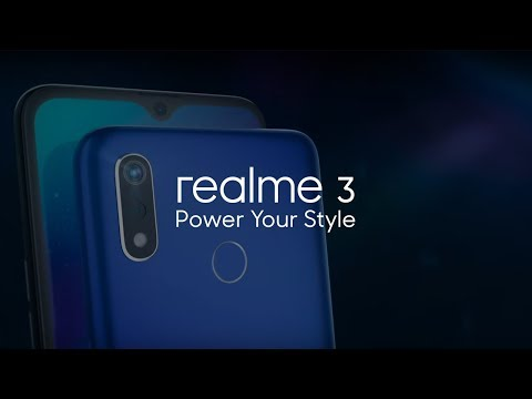 realme 3   Power Your Style