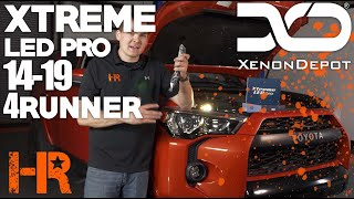 Get 3x the light output from this LED bulb! | 2014-2019 4Runner Xtreme Led Pro Install
