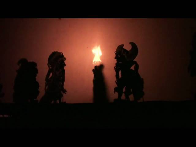 Wayang Kulit Balinese Shadows Puppet Theatre: The Sacrifice of Bima (2) Travel Video