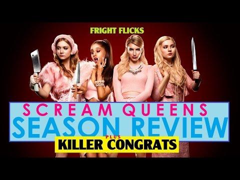 SCREAM QUEENS | Season Review & Killer Congrats | SPOILERS