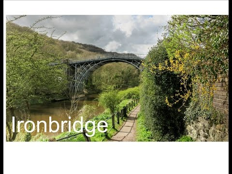 Ironbridge Shropshire a UNESCO world Heritage site