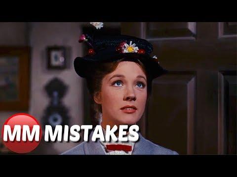 Mary Poppins (1964) - Movie Mistakes, Goofs & Fails