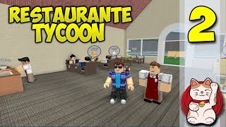CONTRACT TO EMPLOYEES #2 - ROBLOX RESTAURANT TYCOON - Roblox gameplay English [KraoESP]