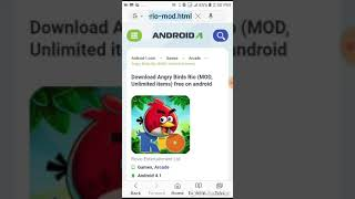 How to download angry birds seasons mod apk