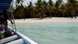 Путешествие на остров Баунти (Саона)(Остров Саона также известен, как остров Баунти. Да именно ту самую рекламу Баунти, в которой кокос падал..., 2013-06-25T13:24:04.000Z)