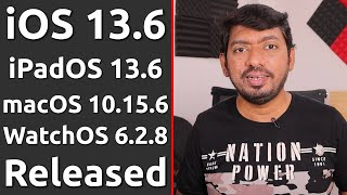 iOS 13.6 Released for iPhone   என்ன Changes வந்திருக்கு?