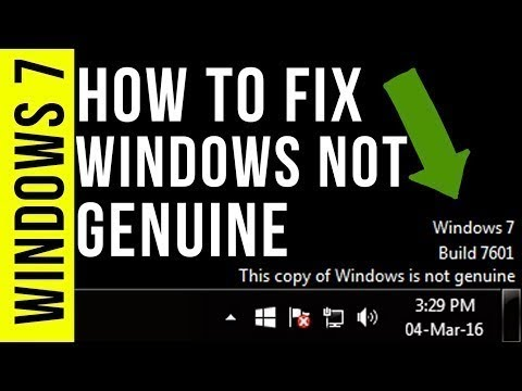 How To Fix Windows Is Not Genuine   Remove Build 7601 7600   100% Working Windows 7 8 10   2018