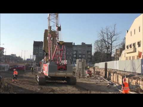 ŁÓDŹ W ROZBUDOWIE - Nowe budowy - Z kamerą na 10 - ciu budowach 22-11-2016