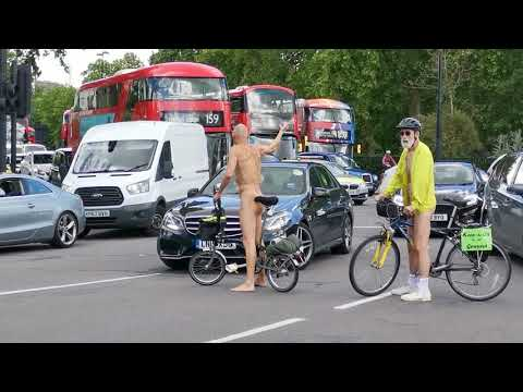 World Naked Bike Ride LONDON 2019
