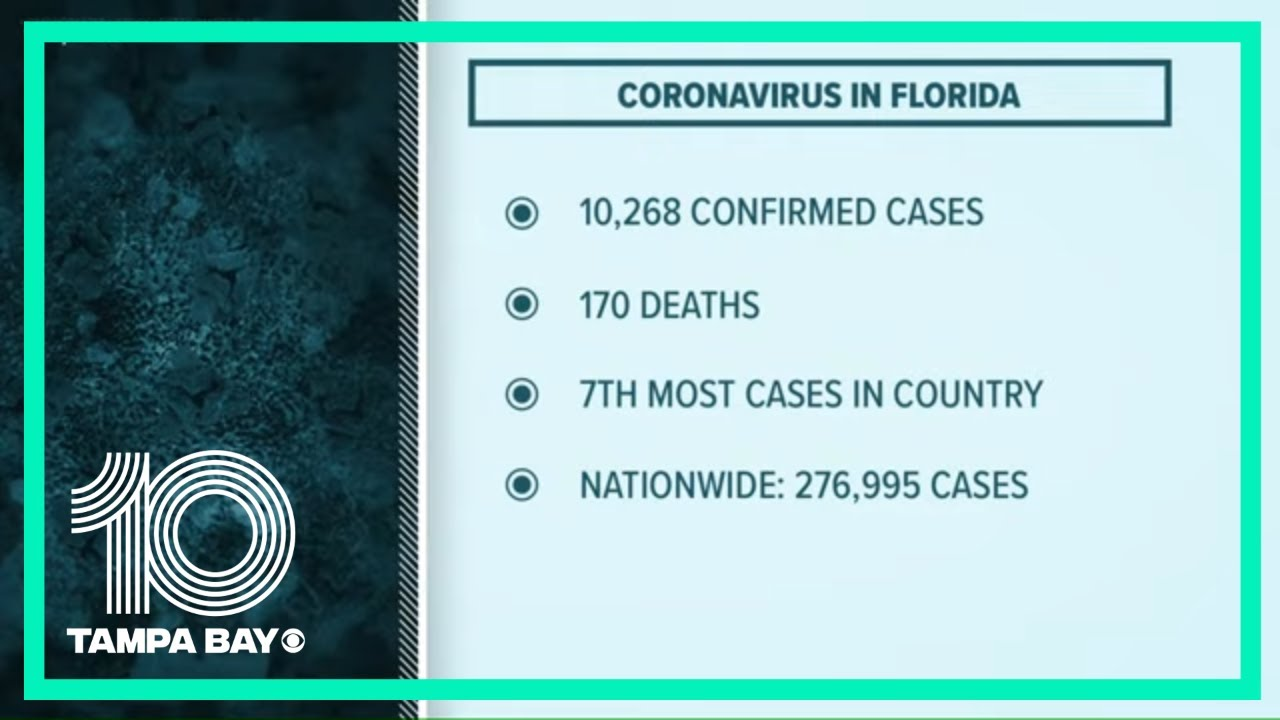 Florida coronavirus: Nearly 10000 new COVID-19 cases following ...