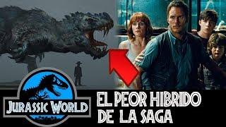 El Híbrido más Peligroso estaría en Jurassic World 2 - Fallen Kingdom
