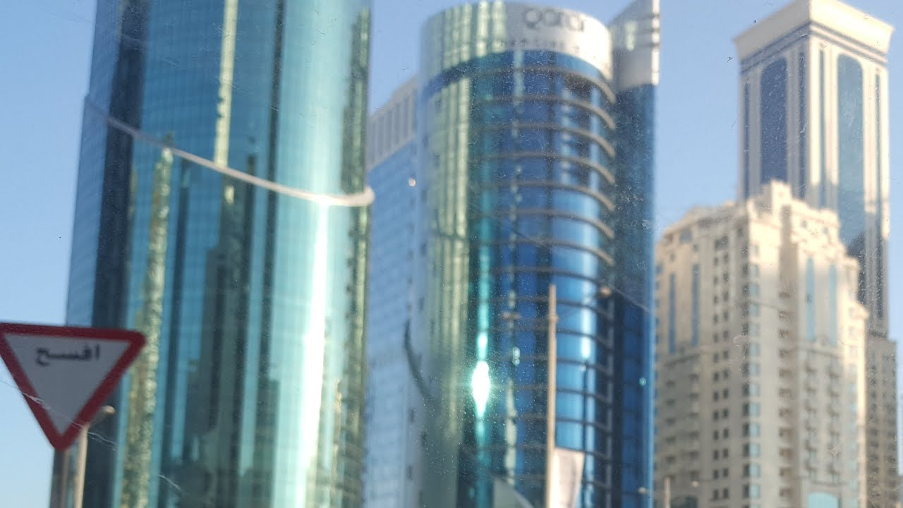 جولة في شوارع الدوحة الجميلة في الصباح الباكر غشت 2020