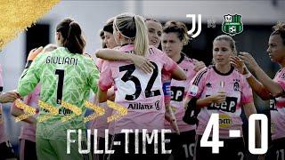 Juventus women - sassuolo 4 serie a femminile