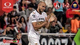 Pumas vence en el debut de Marioni | Atlas 1 - 2 Pumas | Copa MX - J4 - Cl19 | Televisa Deportes