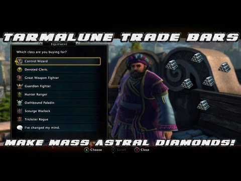 Neverwinter - Astral Diamond Farming Guide -  Trade Bars