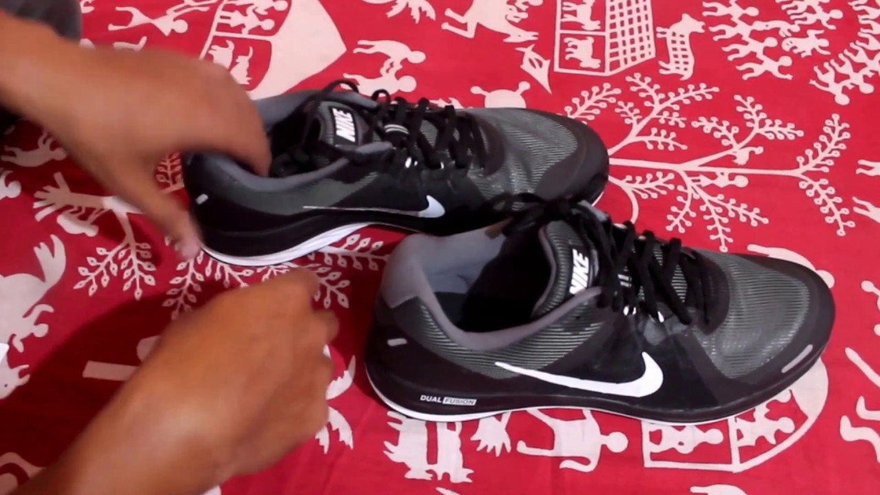 the best attitude 594ca 53443 NIKE Men Charcoal NIKE DUAL FUSION X 2 Running Shoes