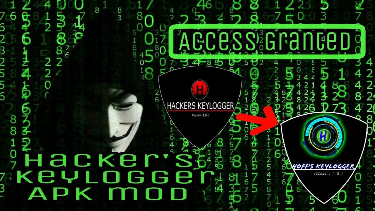 How to use Hackers Keylogger Apk mod [hoffs keylogger]